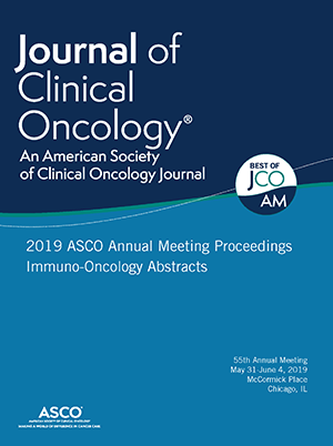 2019 ASCO Annual Meeting Proceedings Immuno-Oncology