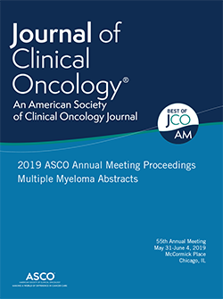 2019 ASCO Annual Meeting Proceedings Multiple Myeloma